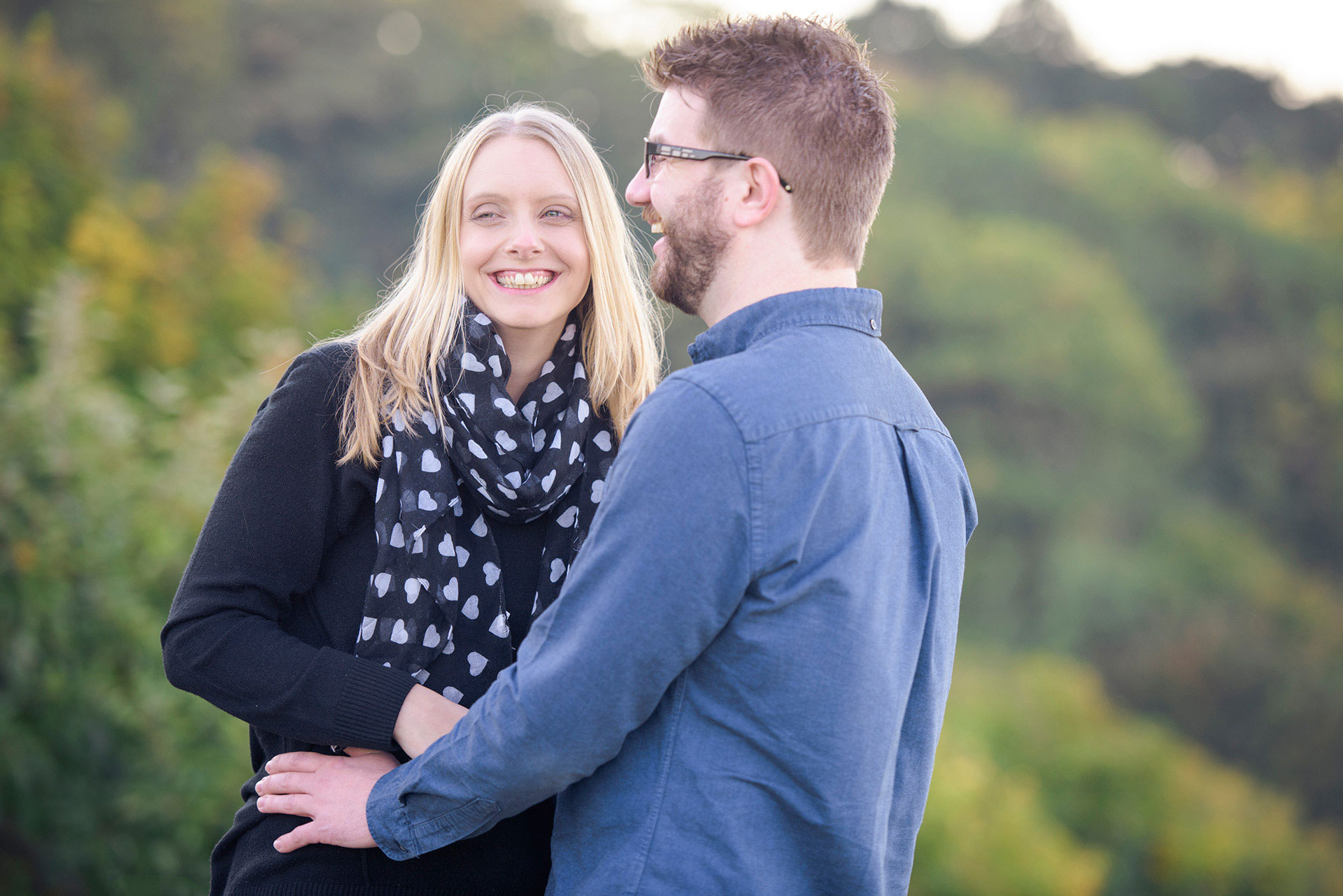 Scarborough engagement photographer North Yorkshire