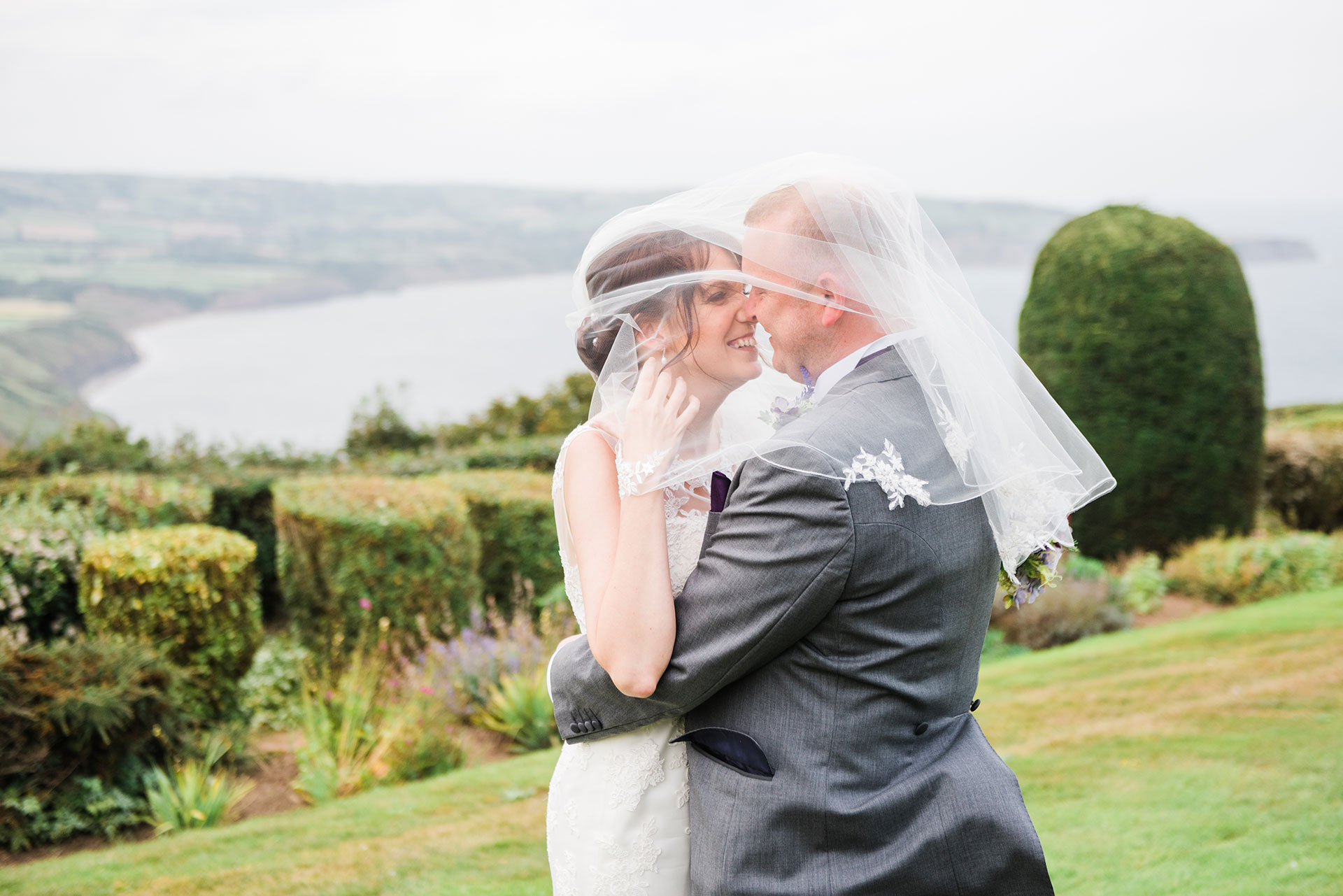 Raven Hall wedding Photography Ravenscar Yorkshire