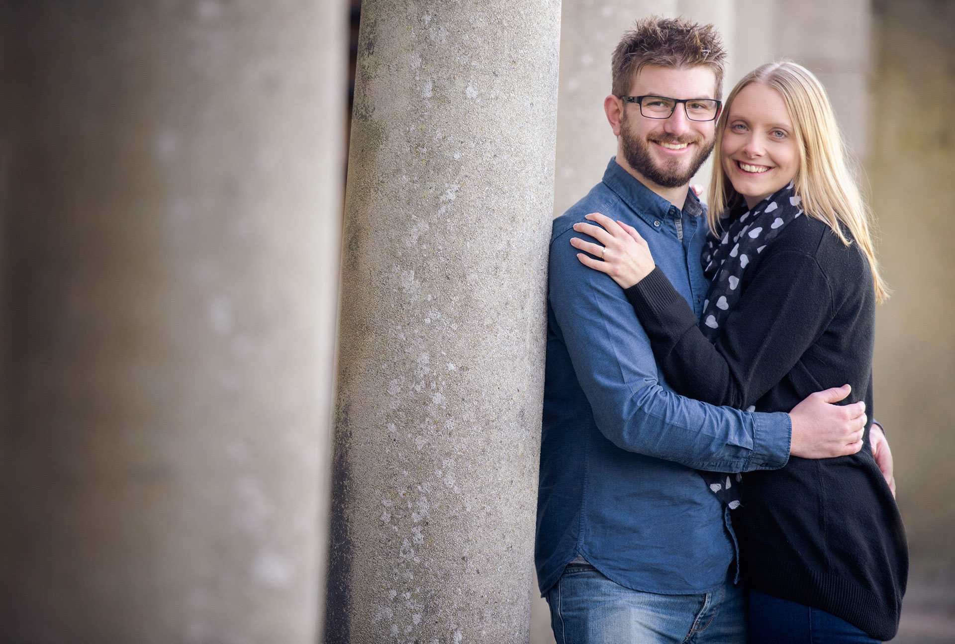 Scarborough engagement photography North Yorkshire