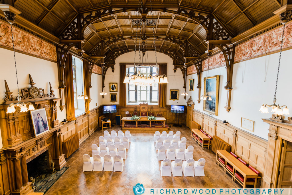 Scarborough Town Hall wedding photographer North Yorkshire