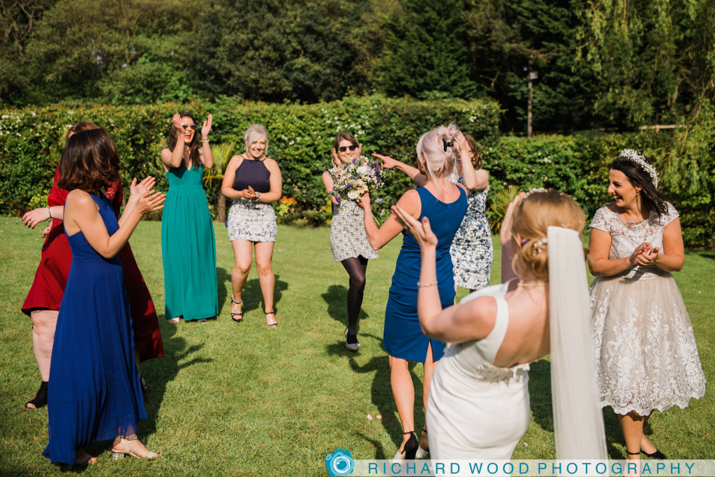 North Yorkshire wedding photography Ox Pasture hotel Scarborough