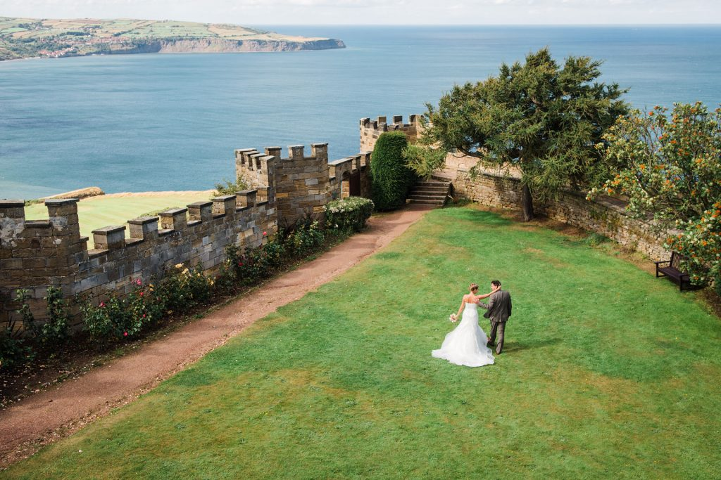 Raven Hall wedding photographer Scarborough Yorkshire