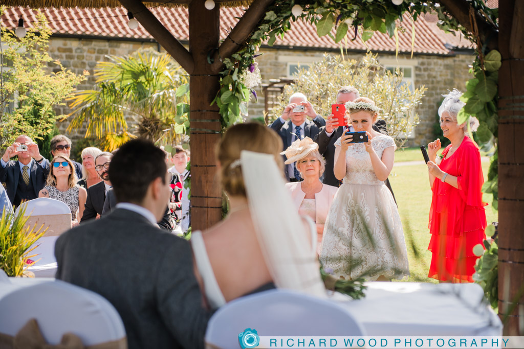 Scarborough wedding photographers Ox Pasture hotel North Yorkshire