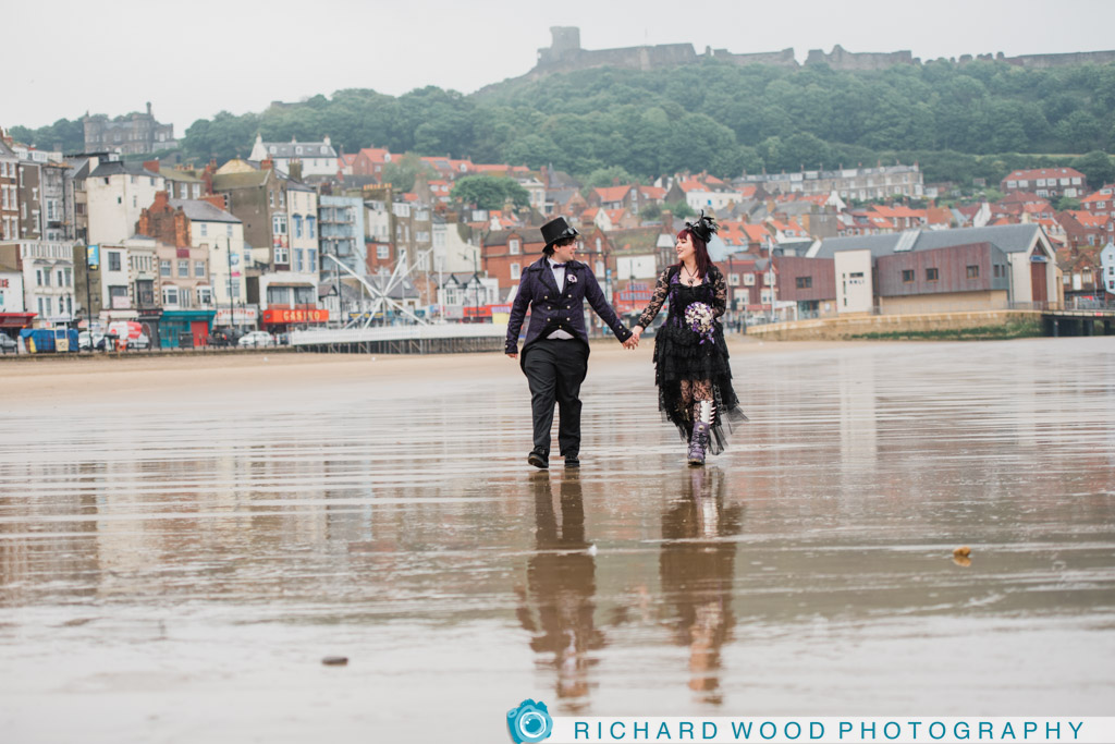 Scarborough wedding photographers Royal Hotel North Yorkshire